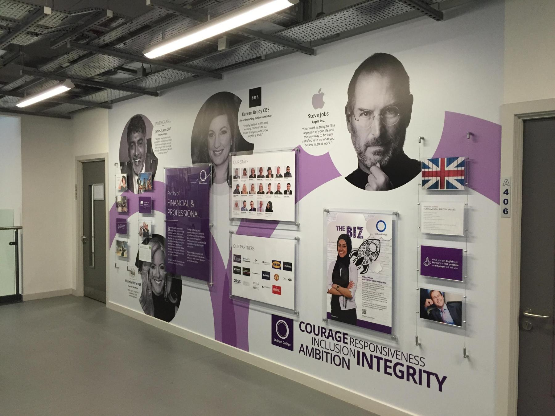 So Happy With Their New Wall Graphics Customer Performs