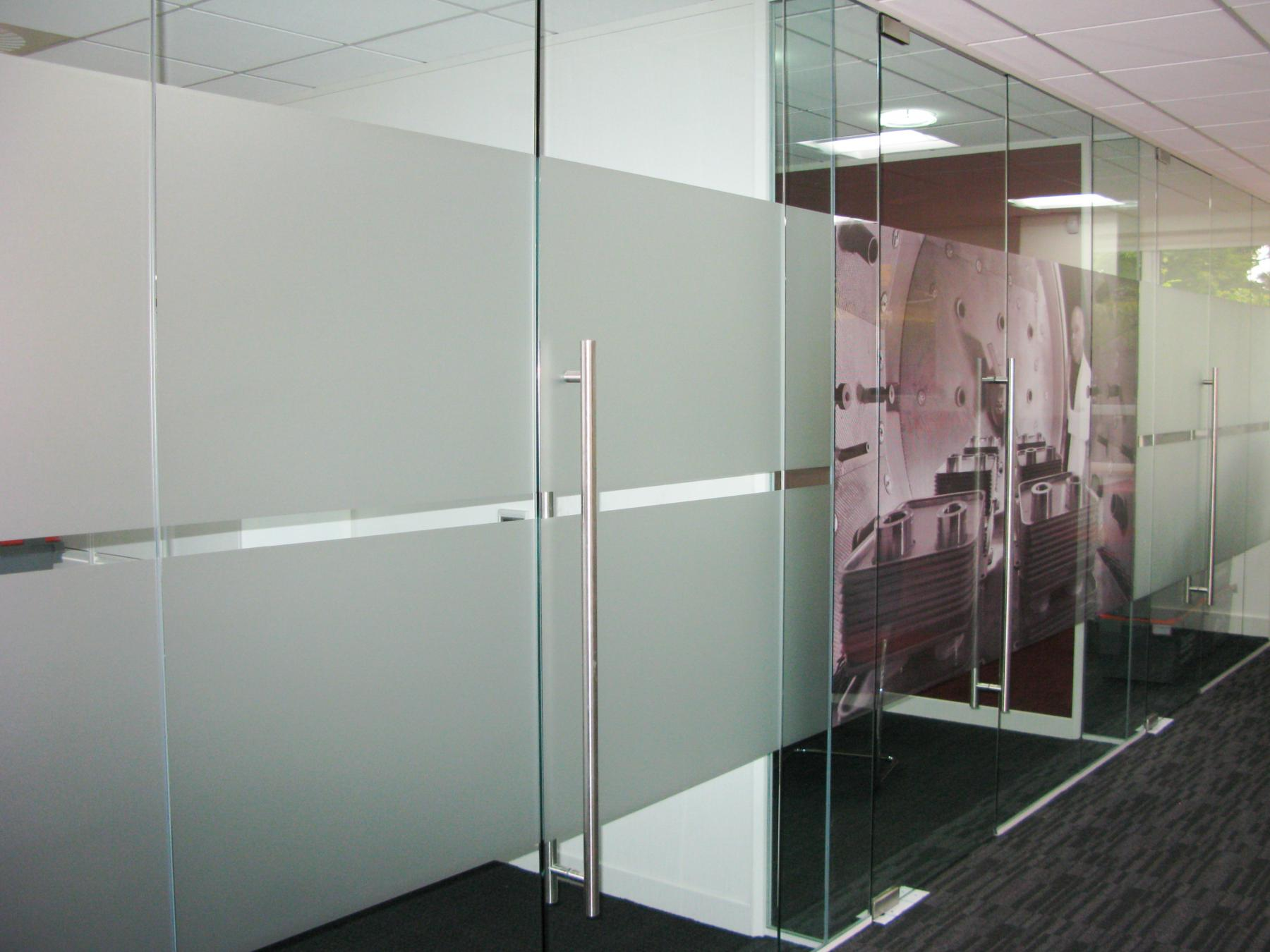 Vinyl Window Graphics Frosted Or Dusted Crystal Sign Uk